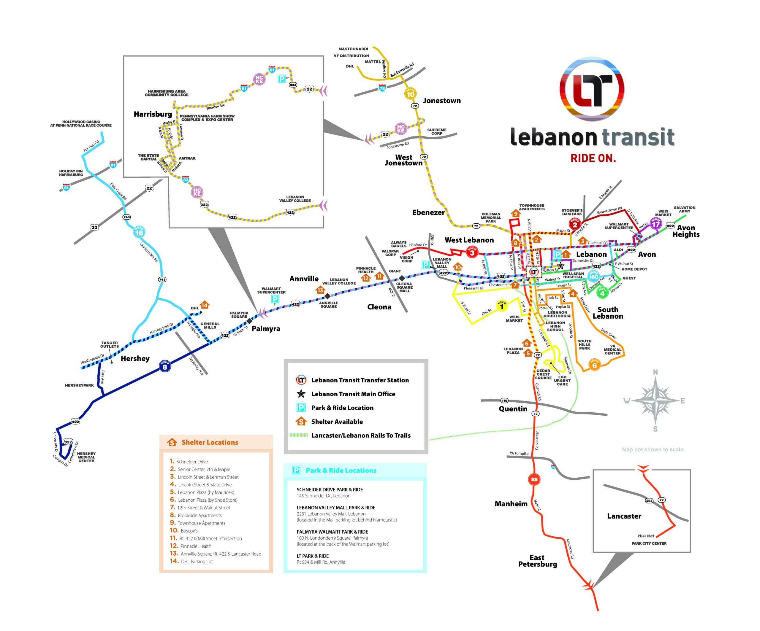 LT Service Map